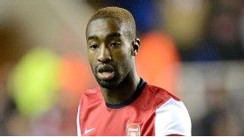 Johan Djourou has made only two appearances for Arsenal this season