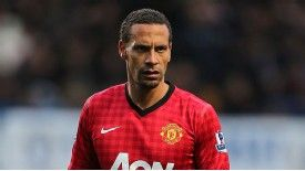 Man United defender Rio Ferdinand