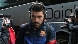 David Villa has seemingly fallen down the pecking order at Barcelona