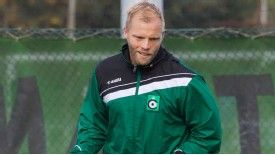 Eidur Gudjohnsen joined Cercle Brugge in October 2012