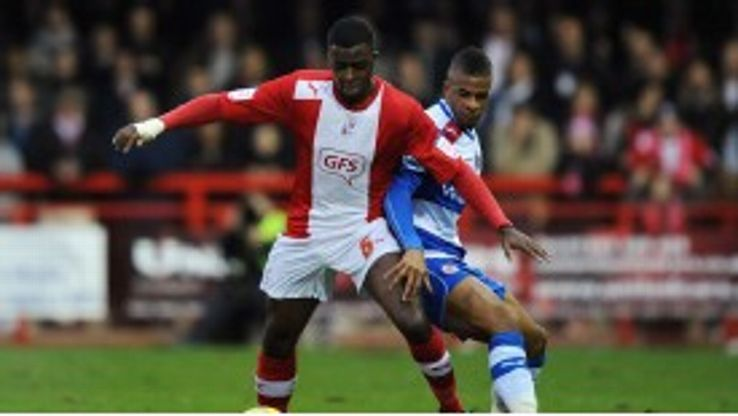 Hope Akpan faced Reading in the FA Cup at the weekend