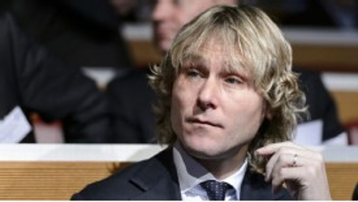 Pavel Nedved was unhappy with the officials after Juve's shock defeat