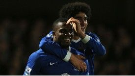 Victor Anichebe put in an impressive performance as Everton saw off Cheltenham