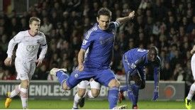 Frank Lampard has scored four goals in Chelsea's last five games