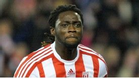 Kenwyne Jones: Signed for Stoke from Sunderland in 2010