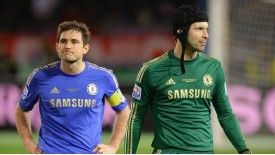 Frank Lampard and Petr Cech return to the Chelsea line up for the trip to Stoke
