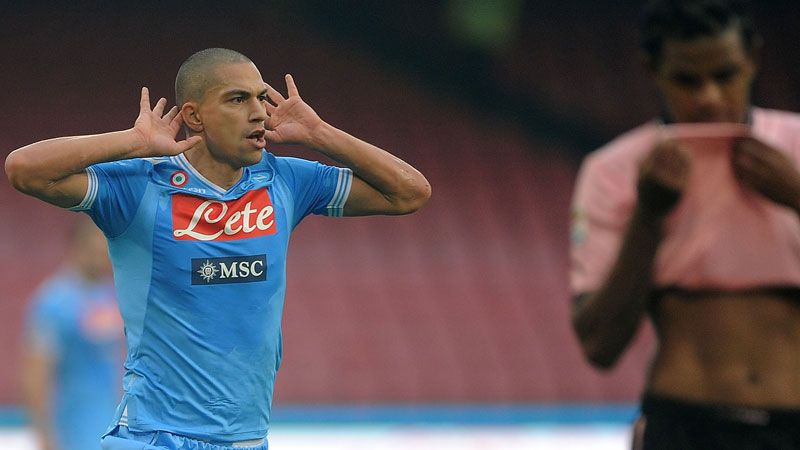 Gokhan Inler helped Napoli to a 3-0 win over Parma