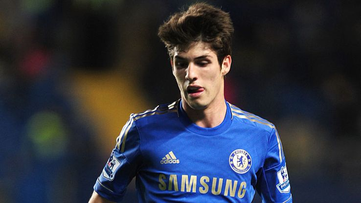 Lucas Piazon signed for Chelsea from Sao Paulo