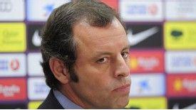 Sandro Rosell: Barcelona president