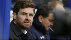 Andre Villas-Boas' Tottenham side currently sit in third position