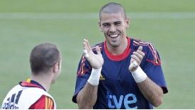 Andres Iniesta rates Victor Valdes as the world's finest goalkeeper