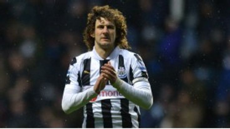 Fabricio Coloccini was injured against Southampton