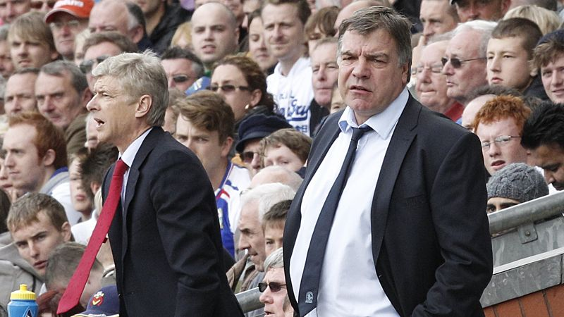 Arsene Wenger and Sam Allardyce have not always seen eye to eye