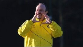 Rafa Benitez has had to hit the ground running at Stamford Bridge