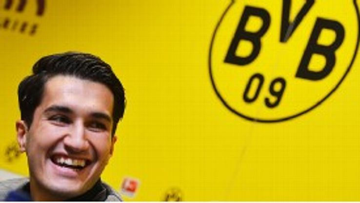 Nuri Sahin is back at his old club