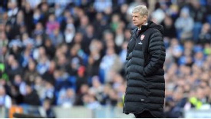 Arsene Wenger has come under fire