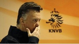 Netherlands boss Louis van Gaal