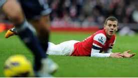 Jack Wilshere could be rested for the FA cup clash with Blackburn