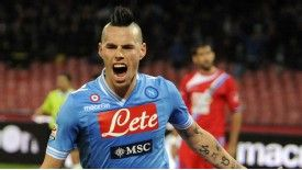 Marek Hamsik broke the deadlock for Napoli