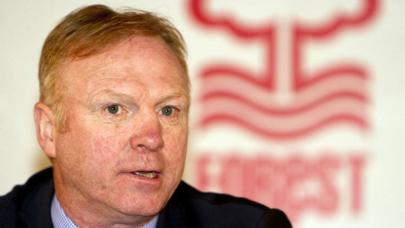 Alex McLeish lasted only 40 days at Nottingham Forest