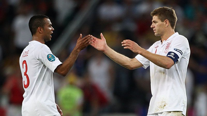 Steven Gerrard rates Ashley Cole as his most consistent team-mate for England
