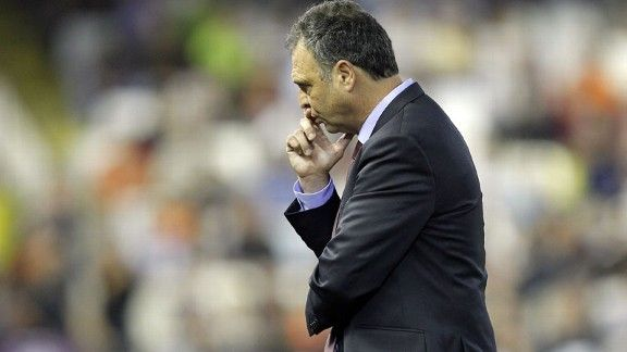 Caparros has managed Athletic Bilbao, Deportivo La Coruna and Sevilla in the past