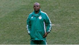 Stephen Keshi is cautious about his side's chances of success