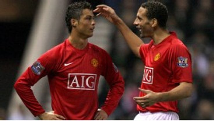 Rio Ferdinand and Cristiano Ronaldo have exchanged texts leading up to the match