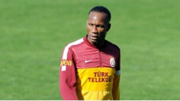 Didier Drogba will hope to help Galatasaray into the quarter-finals of the Champions League