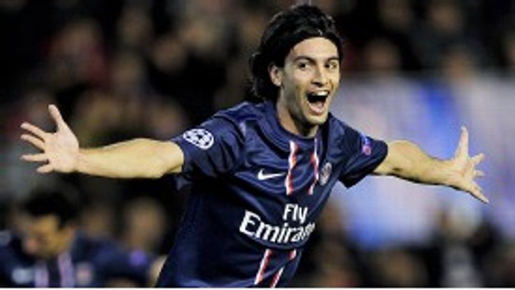 Javier Pastore will win a league title for the first time this season with the Paris club