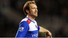 Kaspars Gorkss has been promoted to the Premier League with Reading and QPR