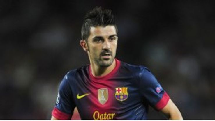David Villa is concentrating on ending the season well for Barcelona