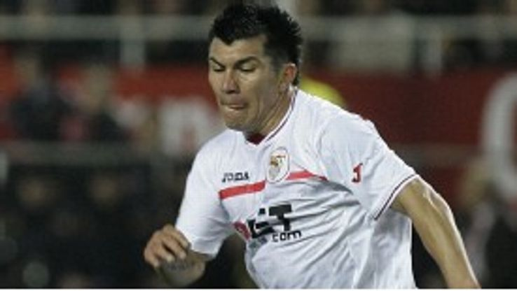 Gary Medel was unusually a double goalscorer