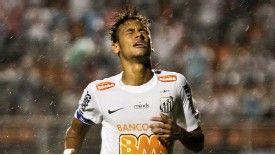 Neymar has now been sent off five times in his professional career