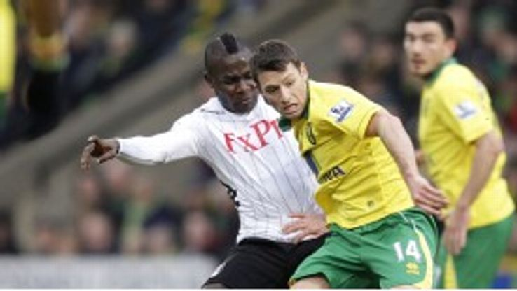 Emmanuel Frimpong was pleased with his performance in the draw with Norwich