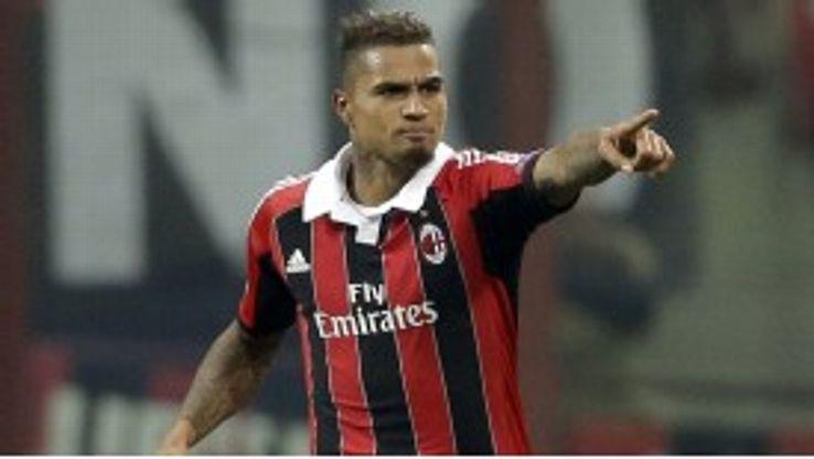 AC Milan midfielder Kevin Prince Boateng