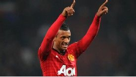 Nani has only made a handful of starts in the Premier League this season