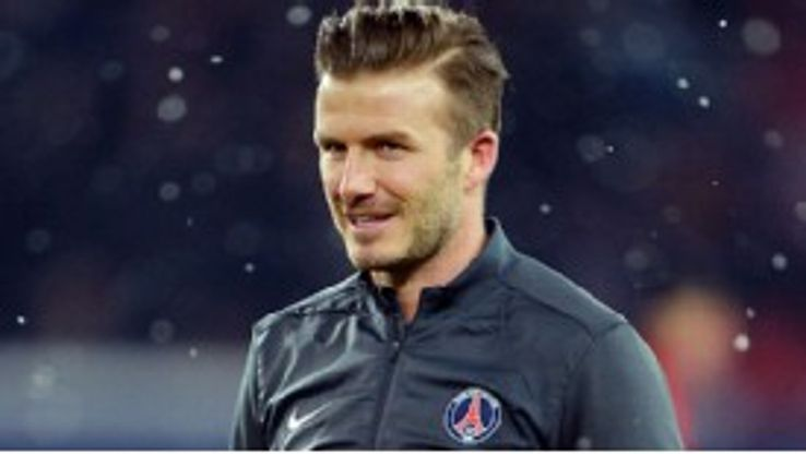 David Beckham won the Champions League with Manchester United in 1999