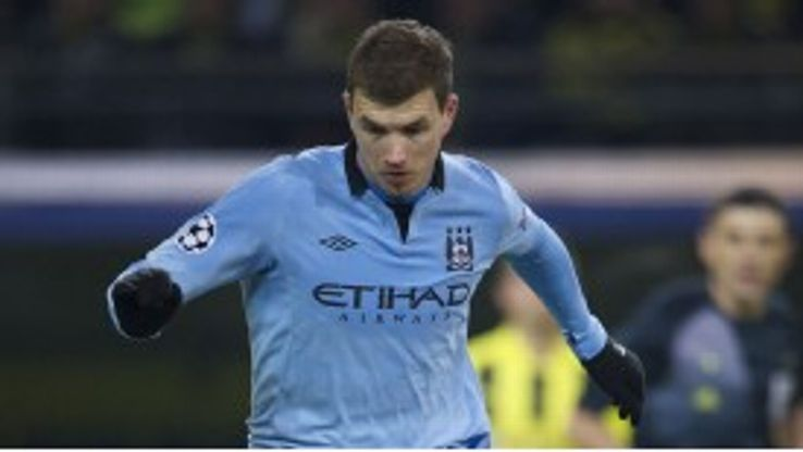 Edin Dzeko believes Borussia Dortmund can reach the Champions League final this season