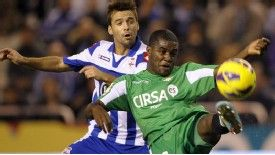 Joel Campbell has impressed in Spain