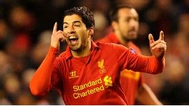 Luis Suarez has 21 Premier League goals this season