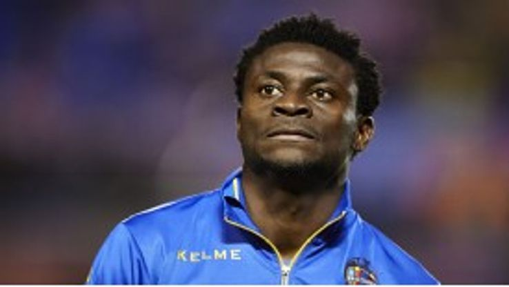 Obafemi Martins is keen to leave Levante