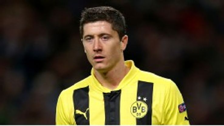 Robert Lewandowski is set to leave German champions Dortmund