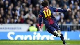 Lionel Messi has scored 42 goals in La Liga this season