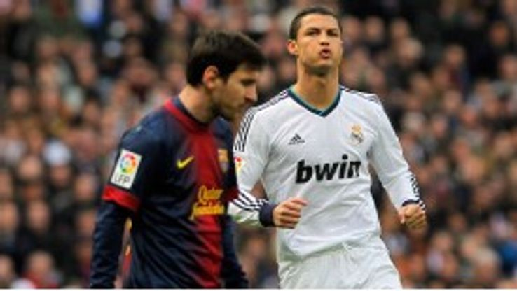 Cristiano Ronaldo got the better of Messi once again