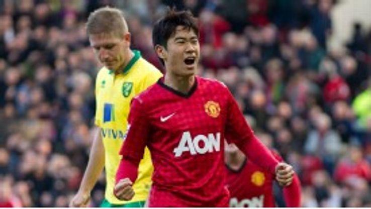 Shinji Kagawa joined Manchester United from Borussia Dortmund last summer