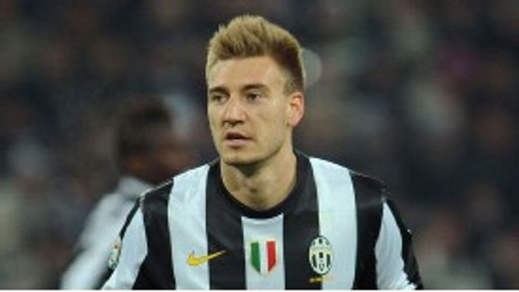 Nicklas Bendtner has struggled for goals at Juve