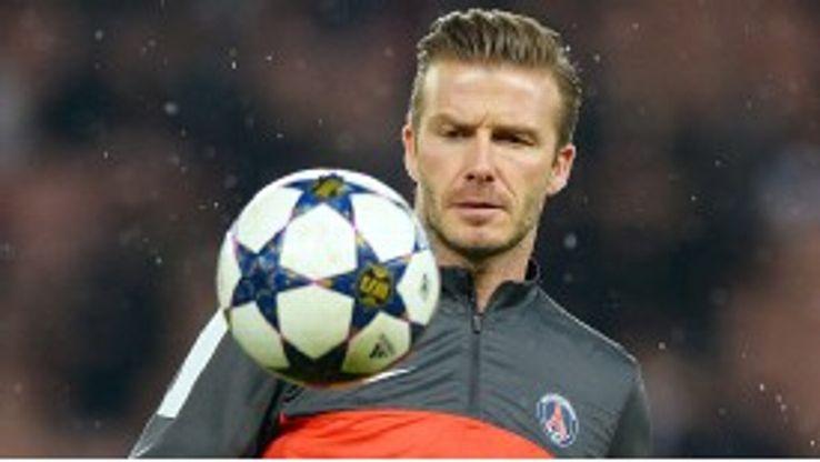 Beckham is set to earn a start against Barcelona next week