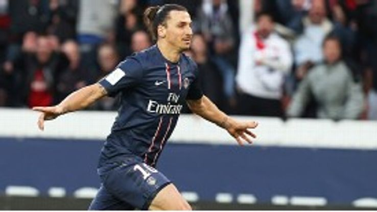 PSG's Zlatan Ibrahimovic will face his old club