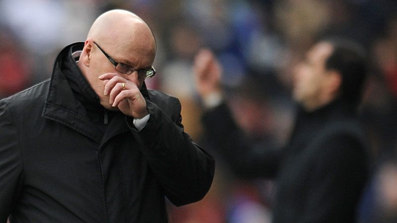 Brian McDermott had led Reading to promotion from the Championship last season